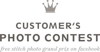 CUSTOMER'S PHOTO CONTEST - free stitch photo grand prix on facebook
